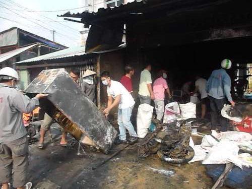 Cháy nổ xăng ở Hải Phòng:1 chết, 1 đang nguy kịch
