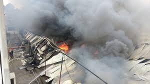Nguy cơ cháy nổ của làng nghề sản xuất vàng mã