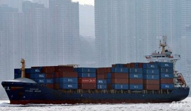 Va chạm tàu chở hàng Trung Quốc khiến 11 người trên tàu mất tích