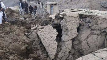 Sạt lở đất ở  Afghanistan khiến ít nhất 350 người thiệt mạng