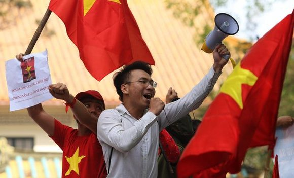 Biểu tình phản đối trung quốc tại Thủ Đô