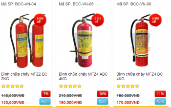Cách sử dụng bình chữa cháy, bình cứu hỏa hiệu quả