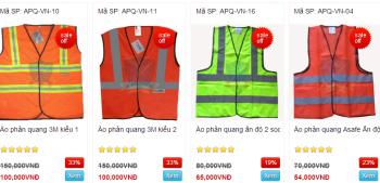 Áo phản quang, áo gile phản quang cho công nhân
