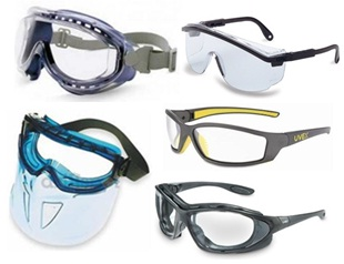 Kính mắt chống bụi đảm bảo an toàn cho mắt khỏi tác động của môi trường bên ngoài