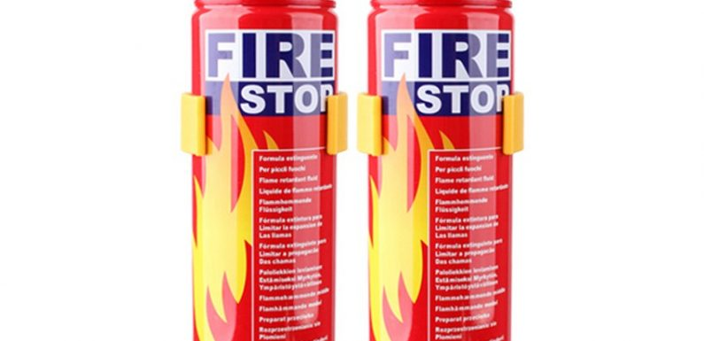 Bình chữa cháy mini nhẹ, tiện dụng, kịp thời
