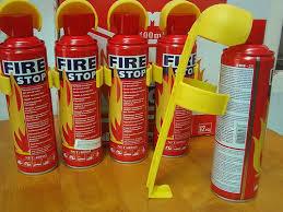 Bình chữa cháy mini giảm nguy cơ bùng phát, lan rộng đám cháy