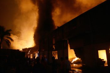 Cháy tại KCN Quang Minh và Keangnam, thiệt hại hơn 130 tỷ đồng