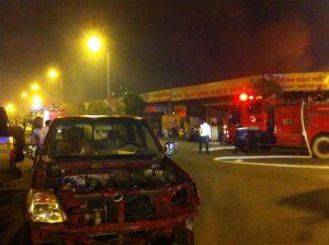 Hỏa hoạn tại Keangnam