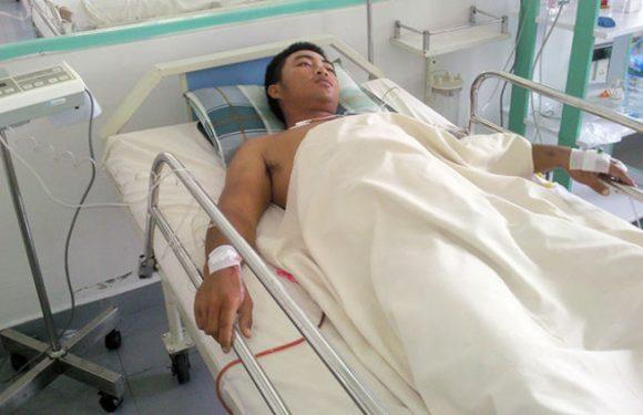 Cứu sống nạn nhân bị tai nạn lao động nặng